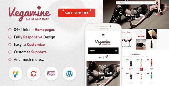 VegaWine WordPress Theme free download