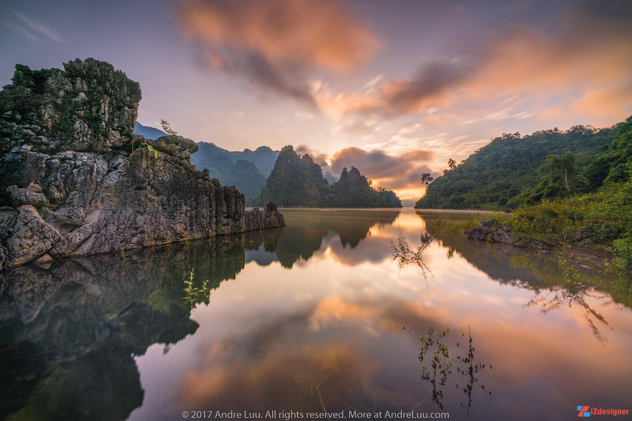Những kinh nghiệm khi chụp ảnh hồ nước