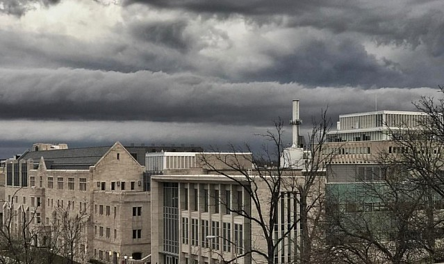 Incoming Storm #storms #iu #spring #indianauniversity #indianaskies #businessspea