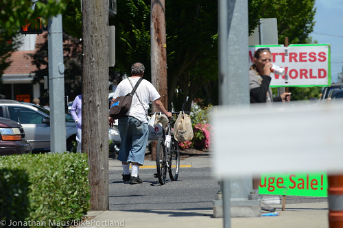 People on Bikes - East Portland-5