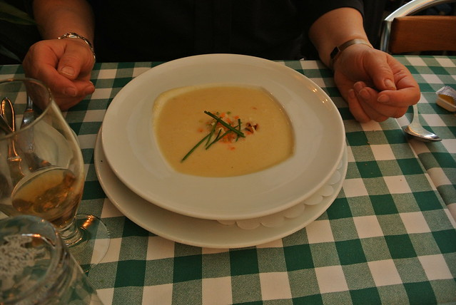 Soup for dinner in Copenhagen