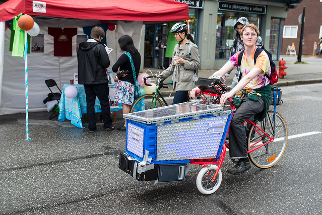 Car Free Day 2014 - Vancouver