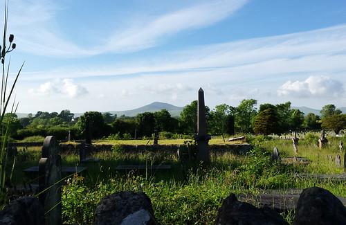 Graveyard above Pwllheli