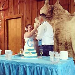 Cake time! #natalieandtony