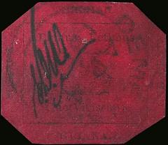 British Guiana One Cent Magenta stamp