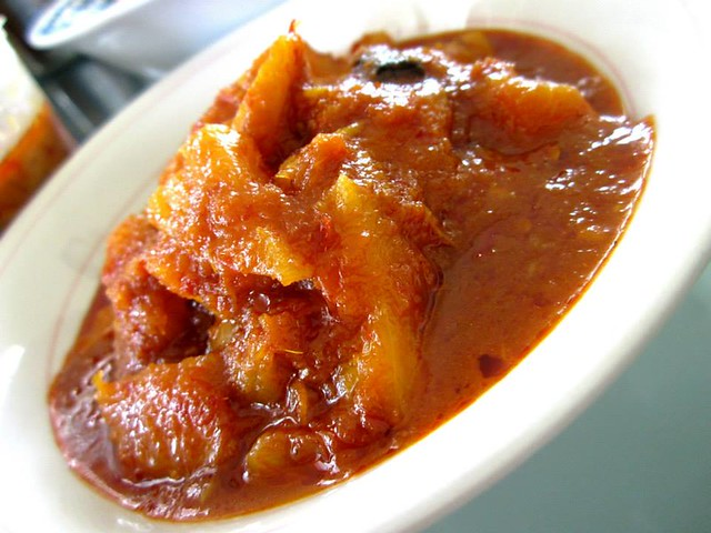 Pineapple sambal