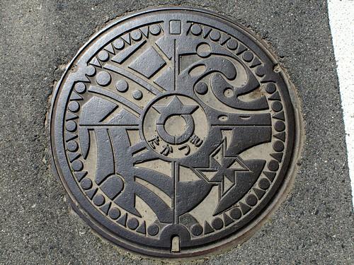 Takatsuki Shiga, manhole cover (滋賀県高月町のマンホール)
