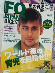 tabloid(0.0), newspaper(0.0), hair coloring(0.0), advertising(0.0), magazine(1.0), poster(1.0),