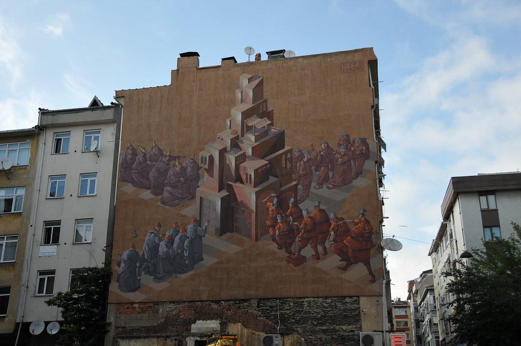 Muralist Yeldeğirmeni Duvar Boyama Festivali Yeldeğirmeni Flickr