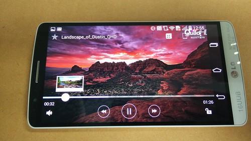 ชมคลิป 2K บน LG G3