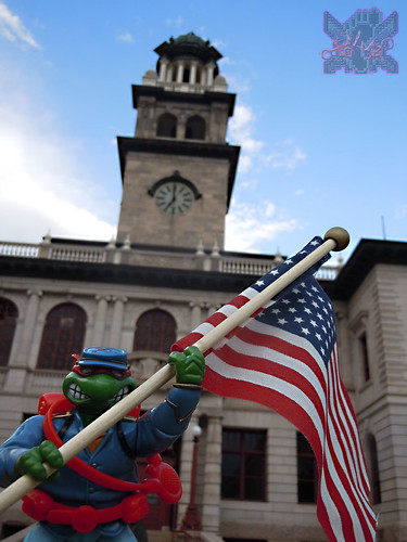 """MUTANT MILITARY 2"" TEENAGE MUTANT NINJA TURTLES ::  YANKEE DOODLE RAPH  iii (( 1992 ))"