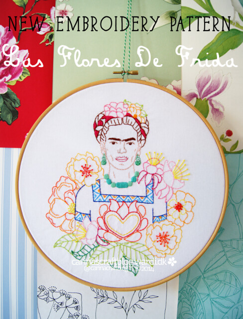 FridaKahlo-EmbroideryPattern