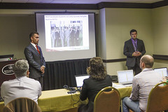 Virginia Tech during their business presentation