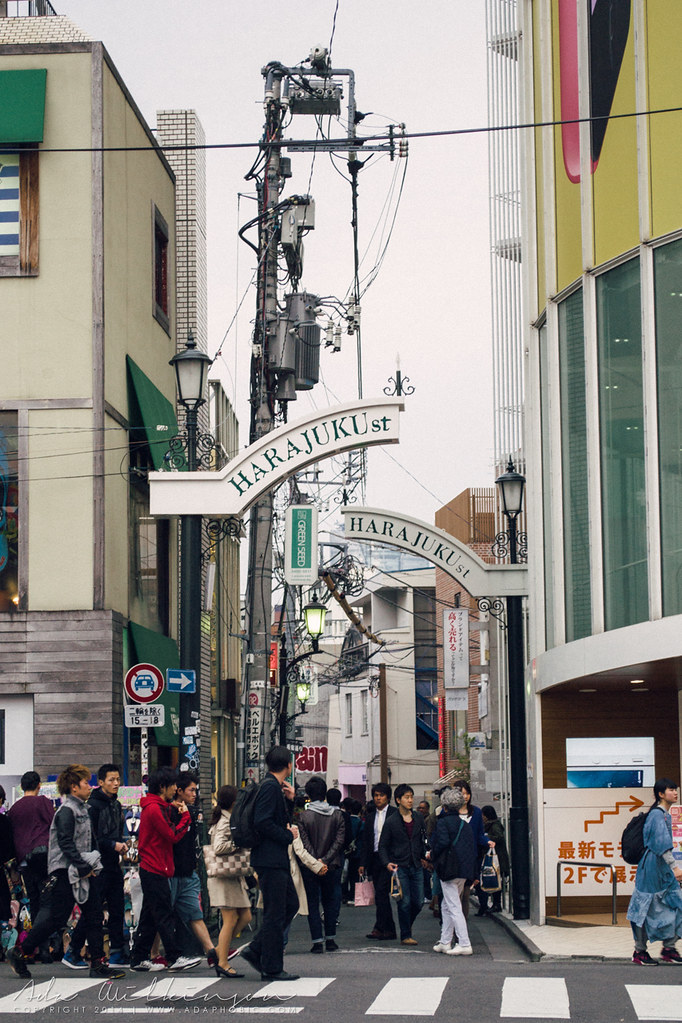 The Takeshita Dori in Harajuku