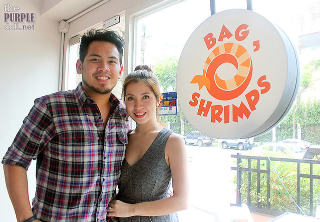 Bag O' Shrimps Owners Princess Sunga-Pastoril and Jandrew Pastoril