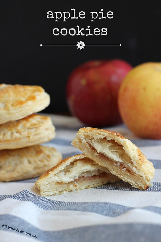 Apple Pie Cookies | Stephie Cooks