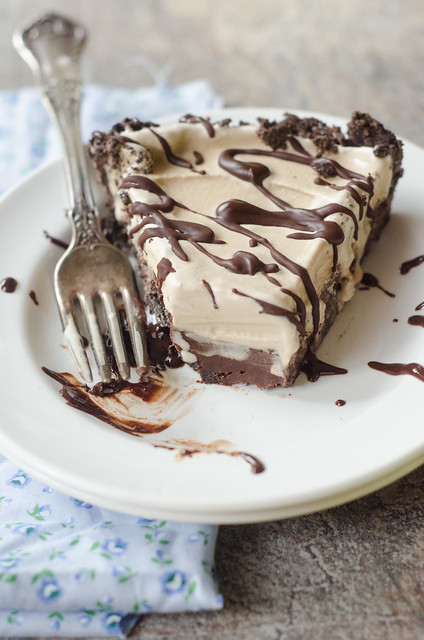 Mocha-Fudge Ice Cream Pie