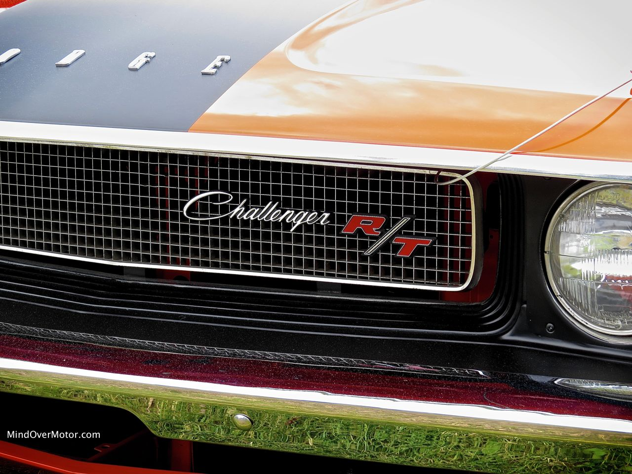 1970 Dodge Challenger R:T Convertible Grille Badge
