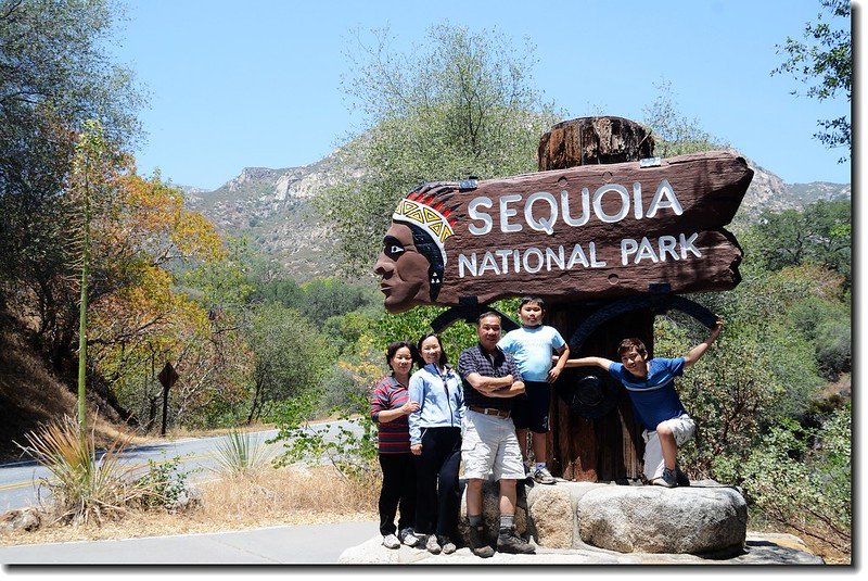 Photo of Ash Mountain Entrance Sign in Sequoia