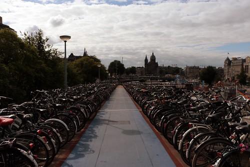 parcheggio per le biciclette