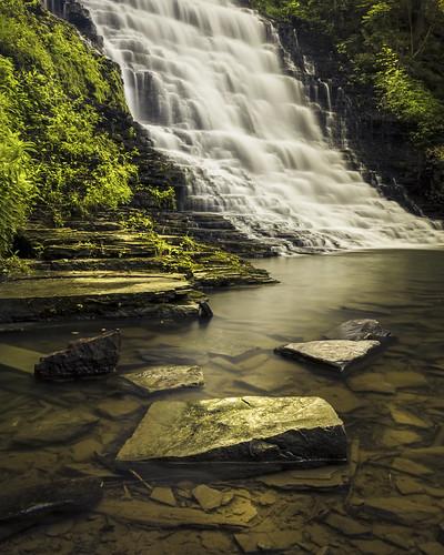 new york summer canon landscape rebel waterfall long exposure glen hdr waverly 32bit t2i