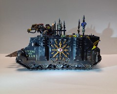 Black Legion Chaos Rhino No2, 8