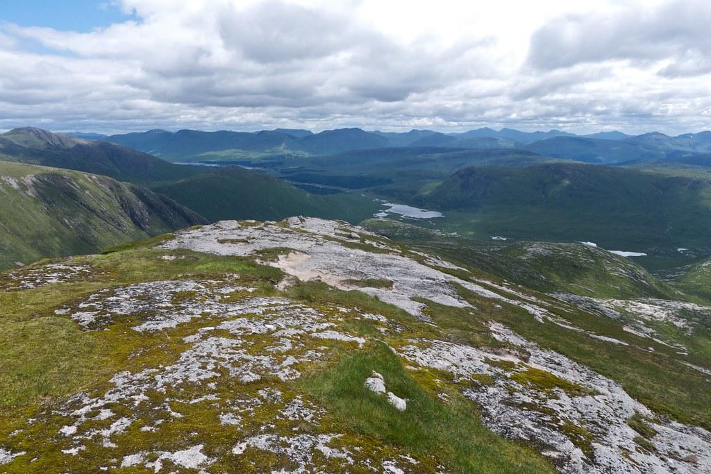 Loch Dochard from Stob Coir'an Albannaich