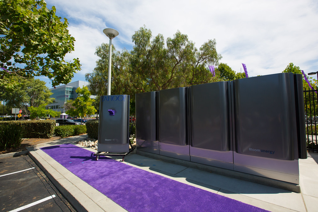Yahoo_Bloom_70 | 1 MW Fuel Cell Installation Ceremony on 07