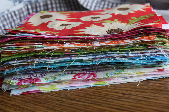 Scrap Patchwork: In progress