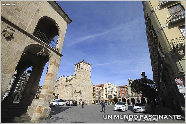 Zamora, Plaza Mayor