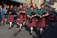 folk dance(0.0), festival(1.0), carnival(1.0), musician(1.0), event(1.0), tradition(1.0), parade(1.0), musical instrument(1.0), kilt(1.0), marching(1.0), bagpipes(1.0),