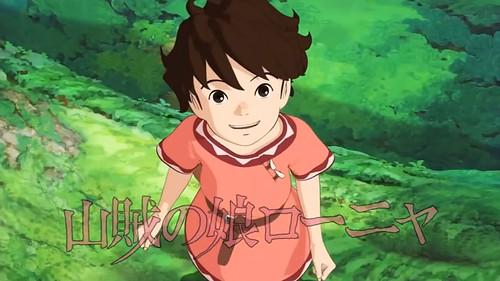 140715(3) - 堅持走自己的路、「宮崎吾朗」監督3DCG動畫《山賊の娘ローニャ》(強盜的女兒 - 隆妮雅;Ronja rövardotter)將在10月開播!