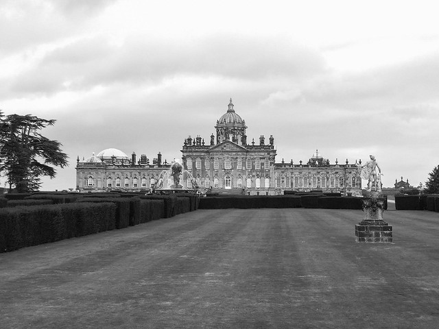 Castle Howard in B+W processed by Patrick Rosenbalm