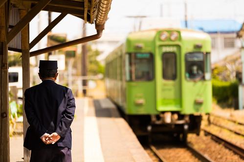 railroad station japan train canon railway nostalgia 駅 千葉 鉄道 ローカル線 localline 銚子電鉄