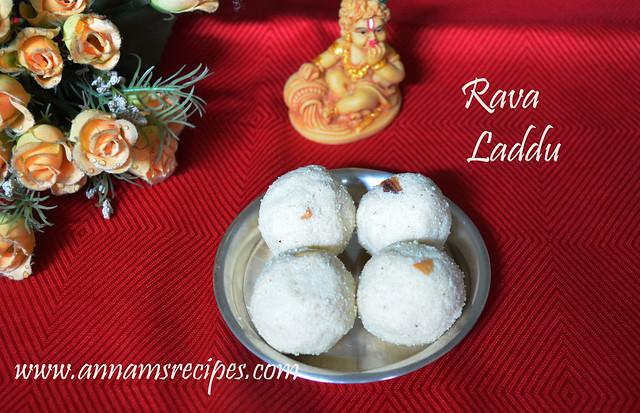 Rava Laddu or Rava Ladoo
