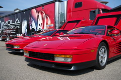 ferrari 348(0.0), ferrari 308 gtb/gts(0.0), ferrari f355(0.0), ferrari 328(0.0), race car(1.0), automobile(1.0), vehicle(1.0), performance car(1.0), automotive design(1.0), ferrari testarossa(1.0), ferrari s.p.a.(1.0), land vehicle(1.0), luxury vehicle(1.0), supercar(1.0), sports car(1.0),
