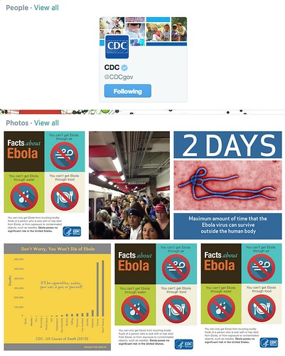 CDC Combats Ebola Hype with Twitter Chat August 8, 2014