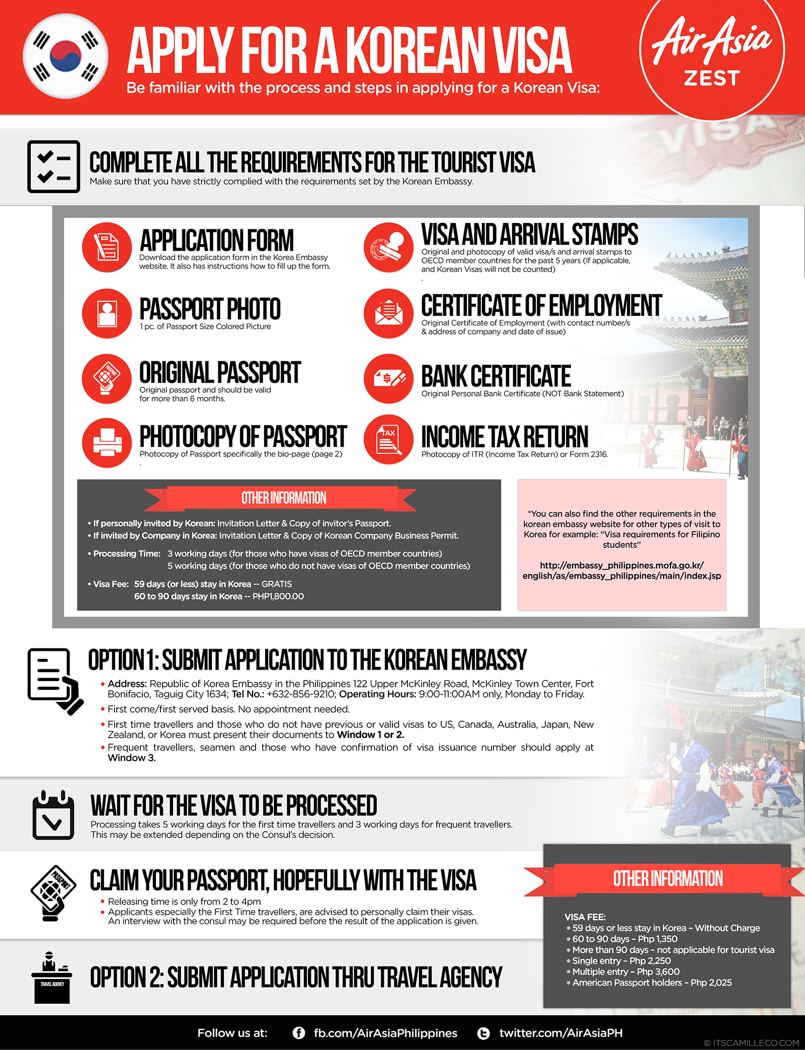 Fly To Korea With Air Asia - Camille Tries To Blog | Camille Tries to Blog