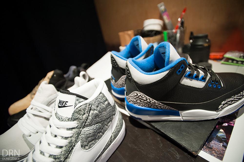 Nikes.