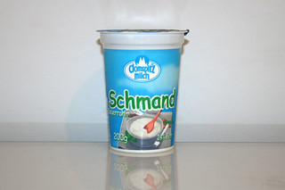 10 - Zutat Schmand / Ingredient sour cream