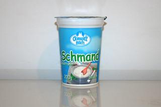 10 - Zutat Schmand / Ingredient sour cream
