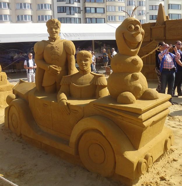 Sculpures sur sable Disney - News Touquet p.1 ! 14770383458_6f972a911b_z