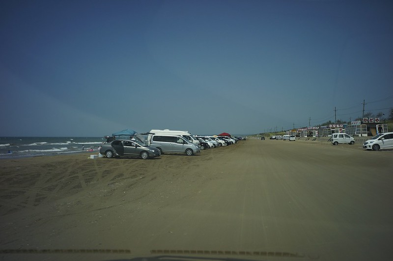 Chirihama Beach Drive Way