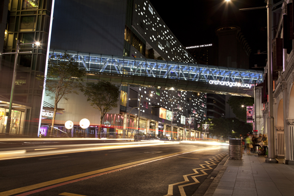 Night or day, Orchard Gateway is your study room and playground