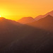 Robinson Pass Sunset Pano by Panorama Paul