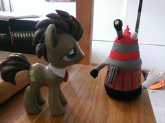 Dr. Whooves and the Dalek