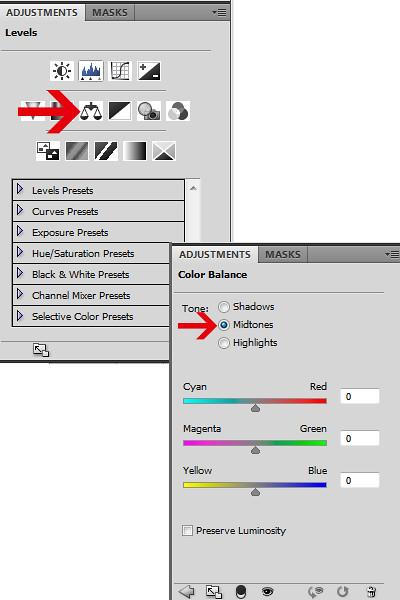 PS-tutorial basics 06a color balance