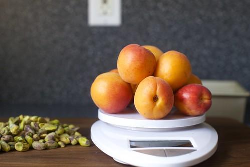 pistachios and apricots