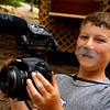 Josh The Moostache Films Intern. He may look young, but clearly his  stache' makes him legal.