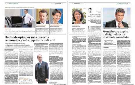 14h27 Nuevo gobierno de Francia Hollande